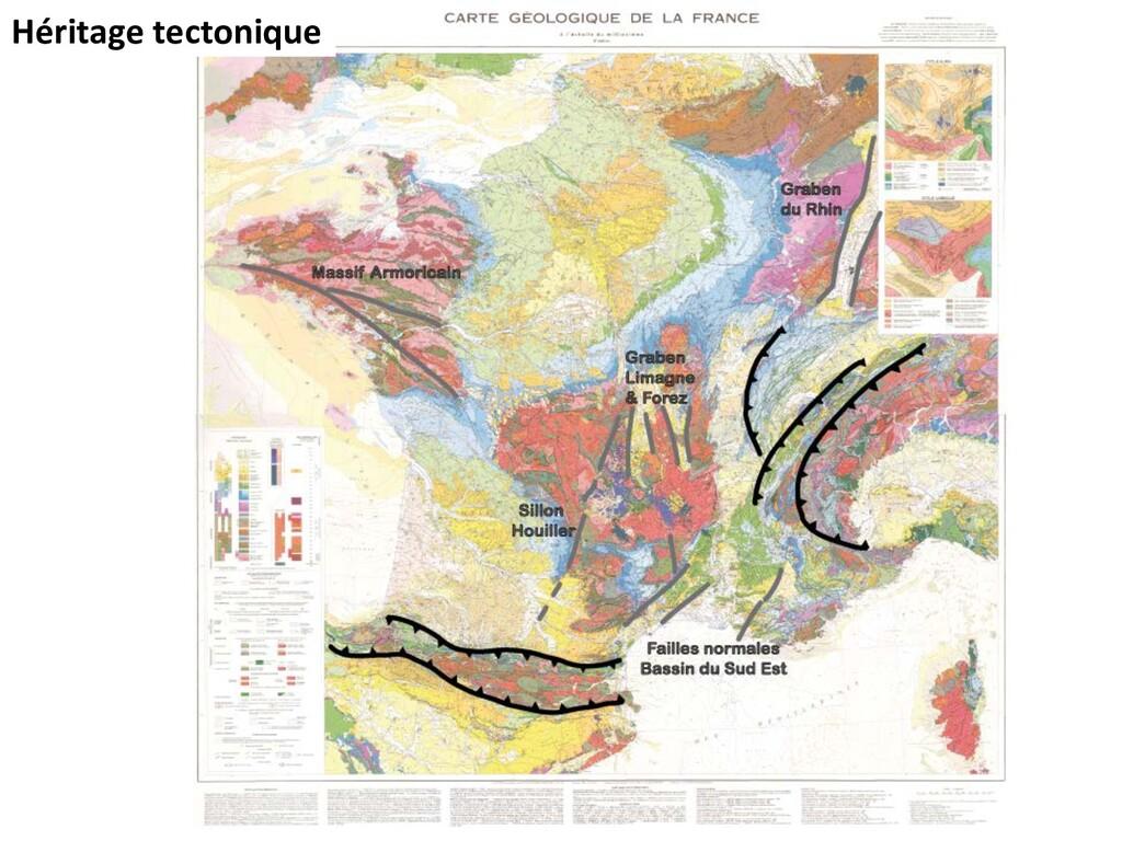 Héritage tectonique