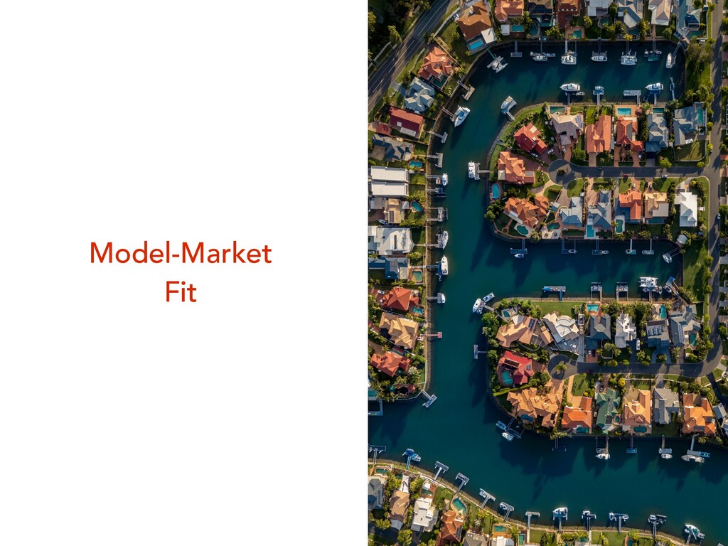 Model-Market Fit