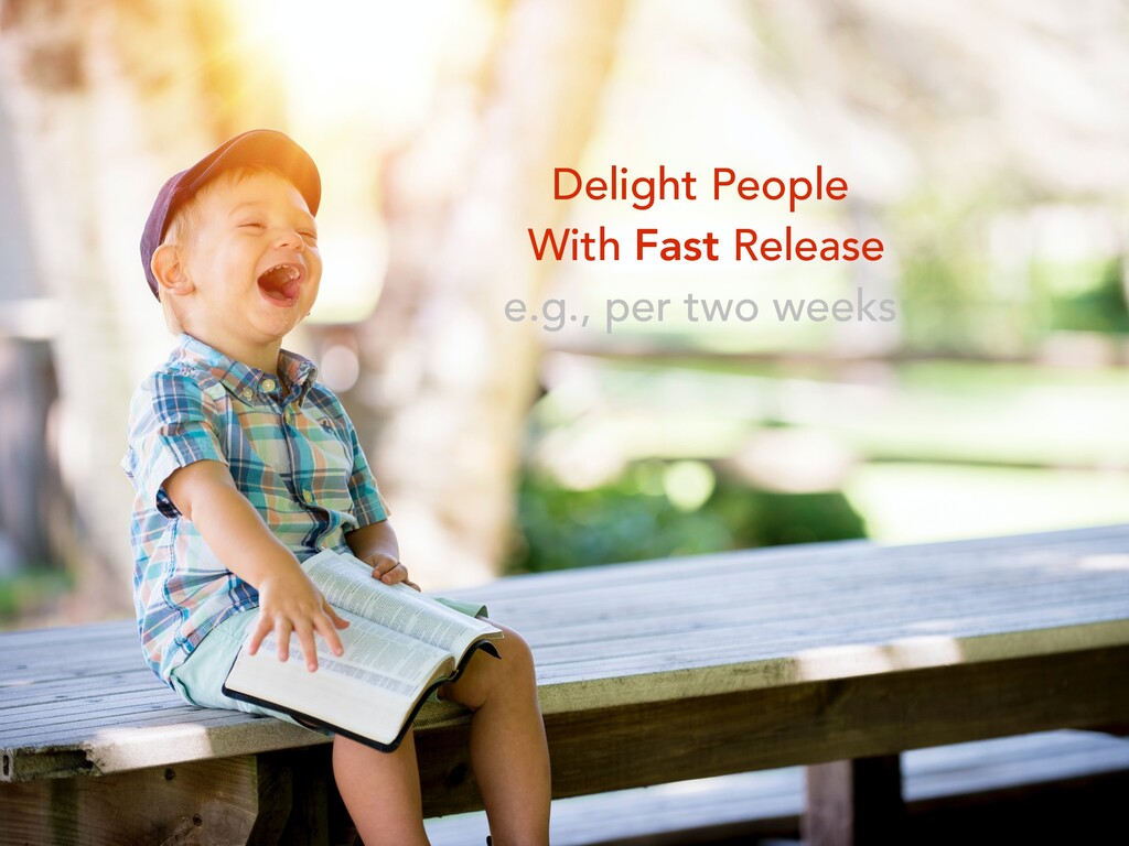 Delight People With Fast Release e.g., per two ...