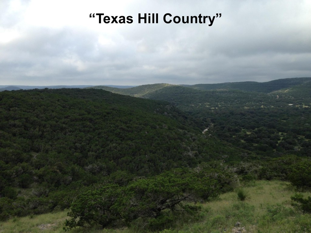 """""""Texas Hill Country"""""""