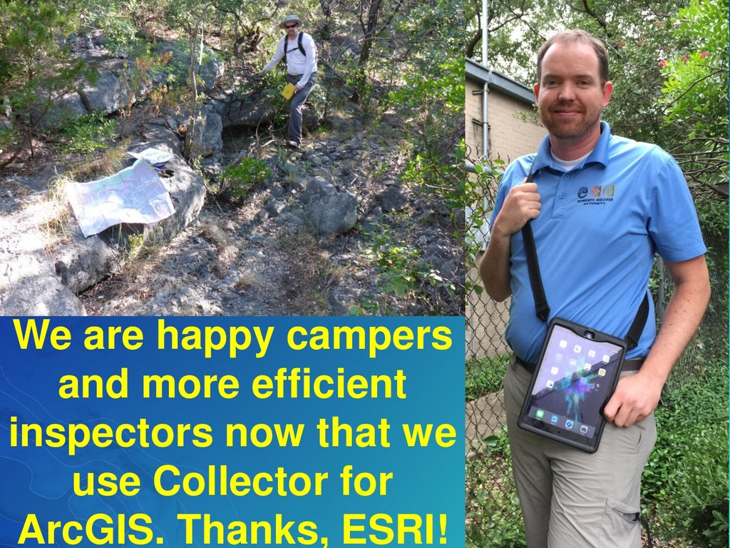 We are happy campers and more efficient inspect...