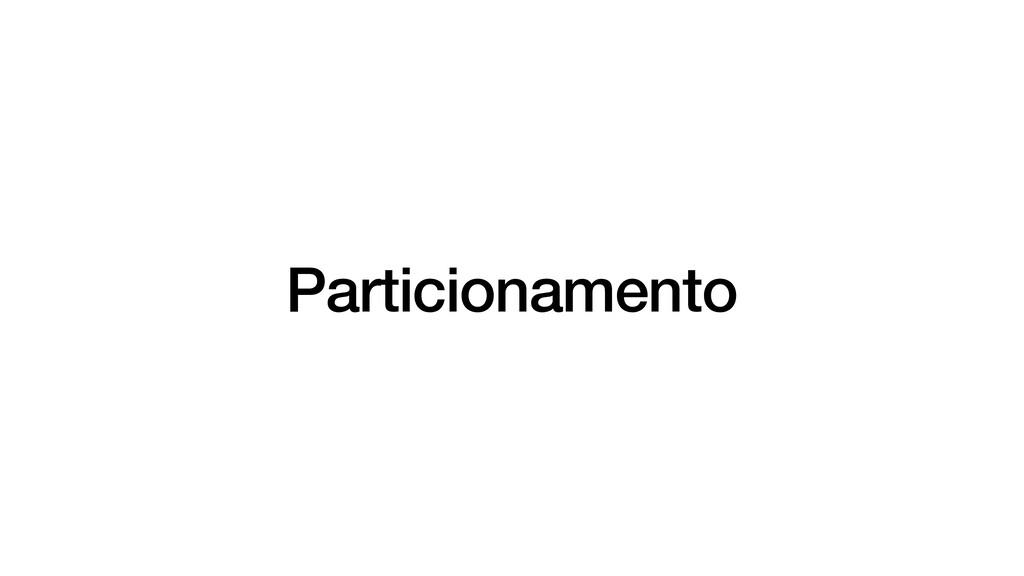 Particionamento