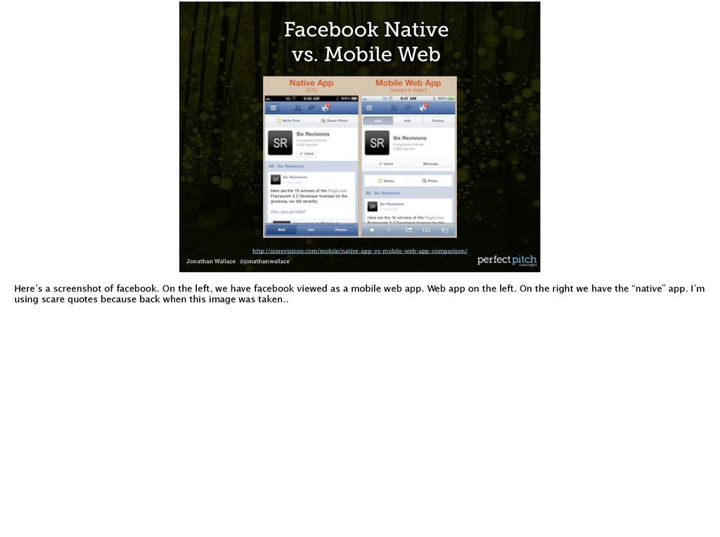 Jonathan Wallace @jonathanwallace Facebook Nati...