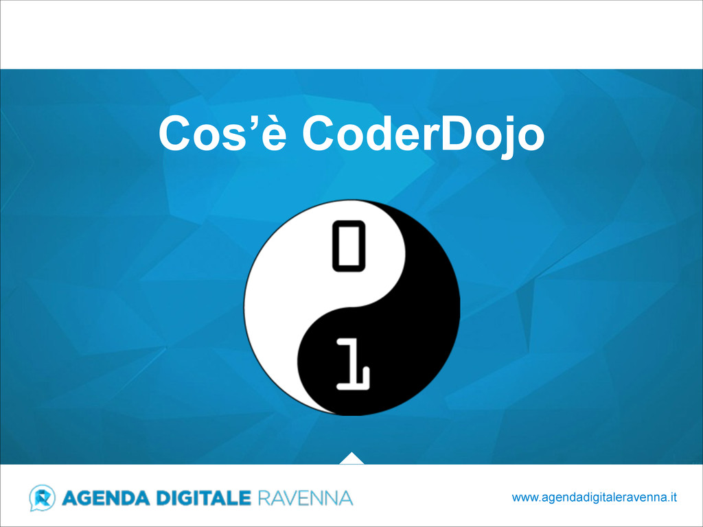 Cos'è CoderDojo www.agendadigitaleravenna.it