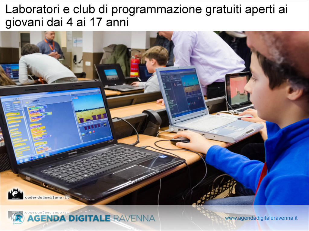 www.agendadigitaleravenna.it Laboratori e club ...