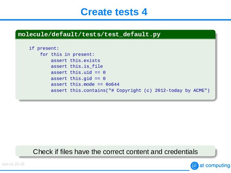 Create tests 4 molecule/default/tests/test_defa...