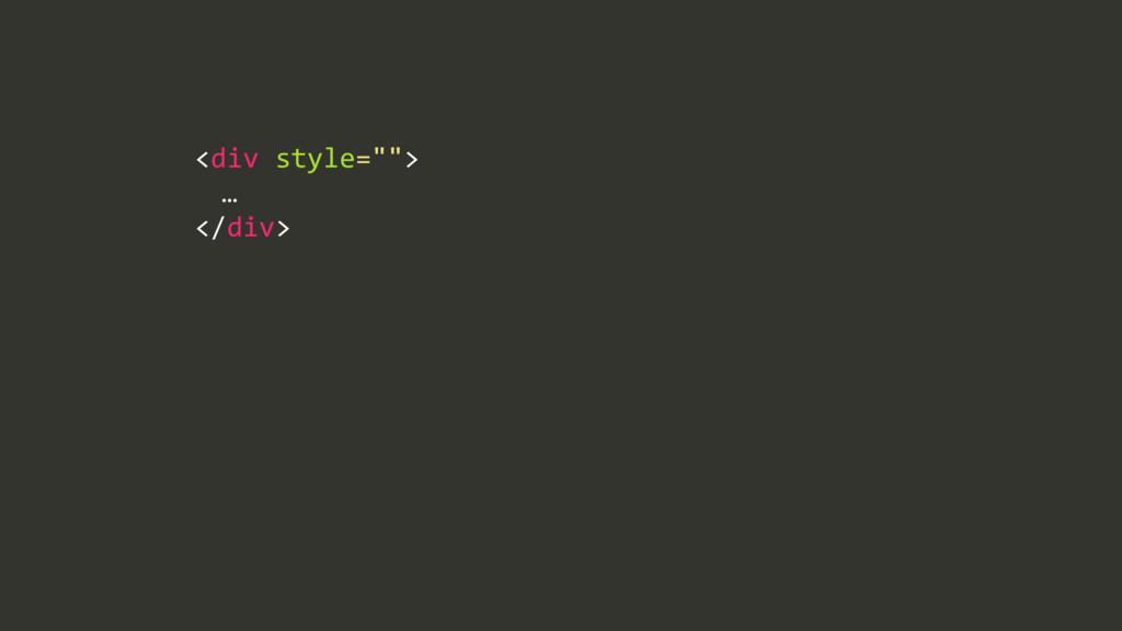 """<div/style="""""""">/ / …/ </div>"""