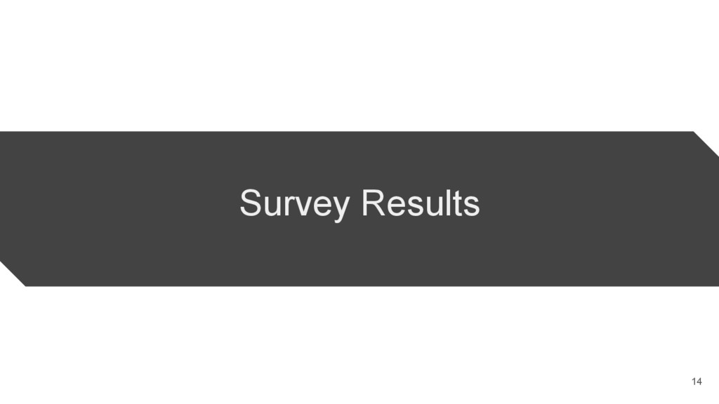 Survey Results 14