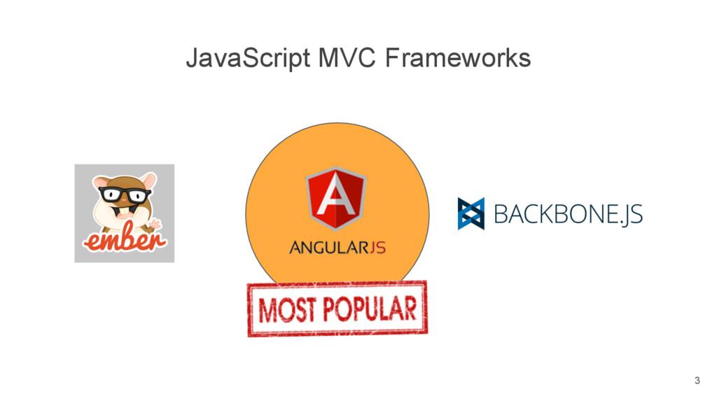 JavaScript MVC Frameworks 3