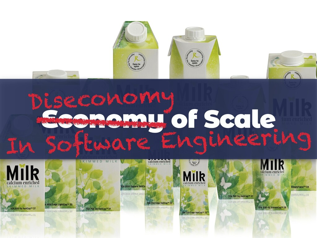 Economy of Scale Diseconomy In Software Enginee...