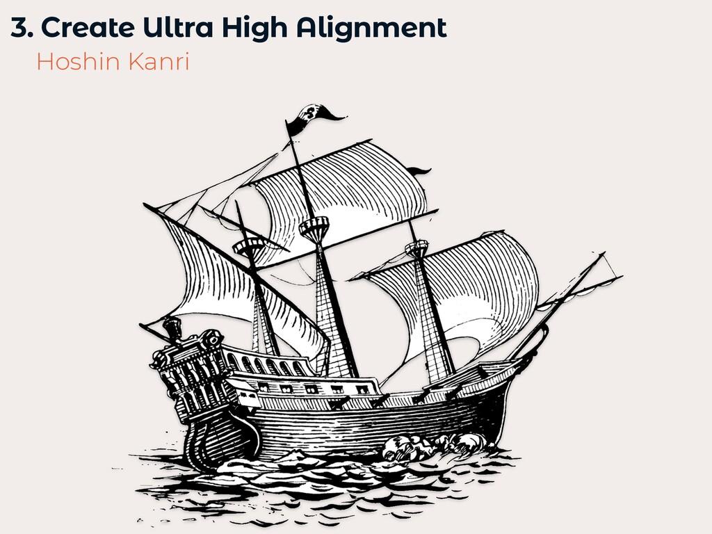 3. Create Ultra High Alignment   Hoshin Kanri