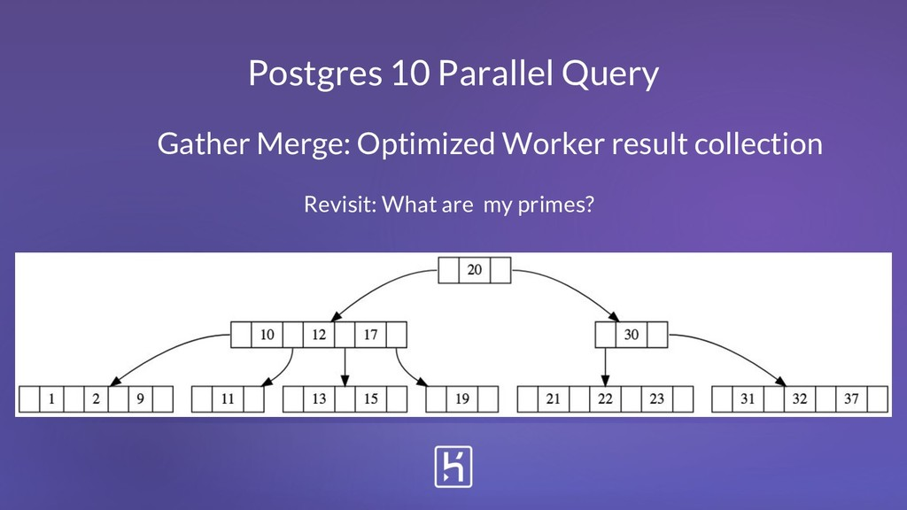 Postgres 10 Parallel Query Gather Merge: Optimi...