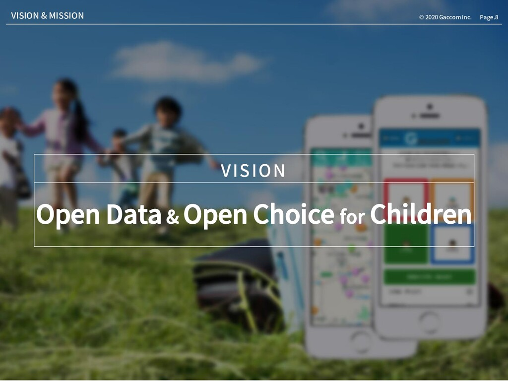 Page.8 © 2020 Gaccom Inc. Open Data & Open Choi...