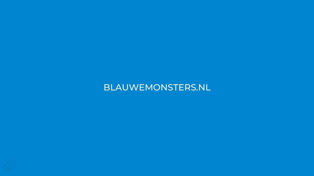 BLAUWEMONSTERS.NL