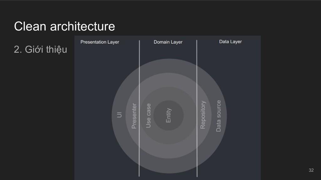 Clean architecture 2. Giới thiệu 32