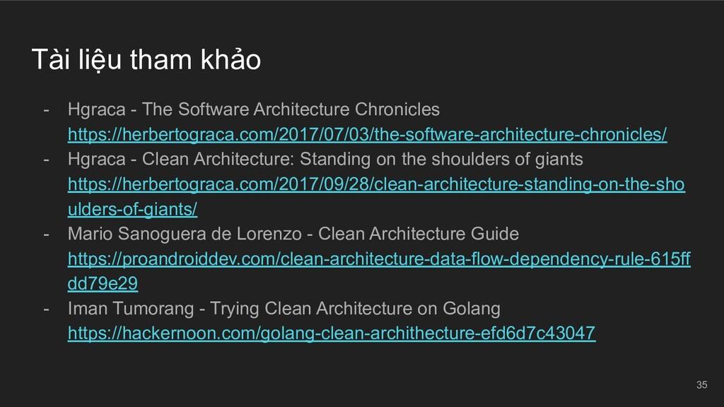 Tài liệu tham khảo - Hgraca - The Software Arch...
