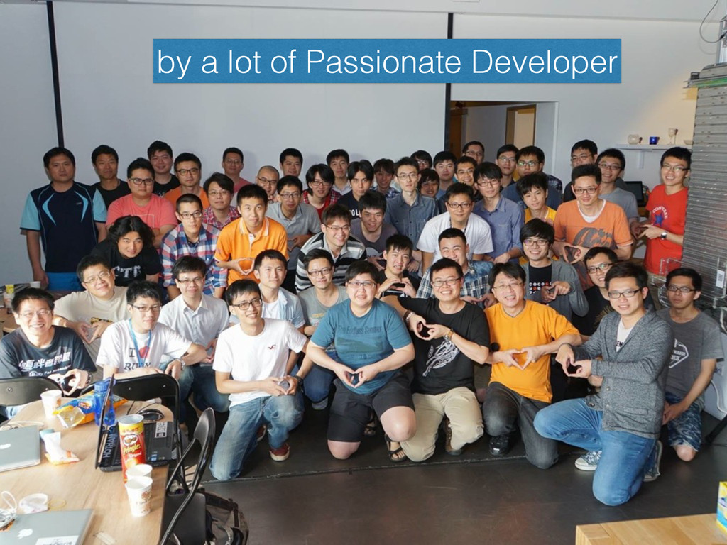 by a lot of Passionate Developer
