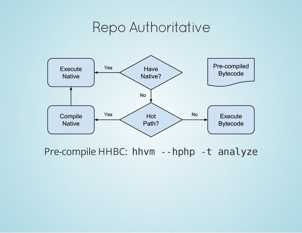 Repo Authoritative Pre-compile HHBC: h h v m - ...