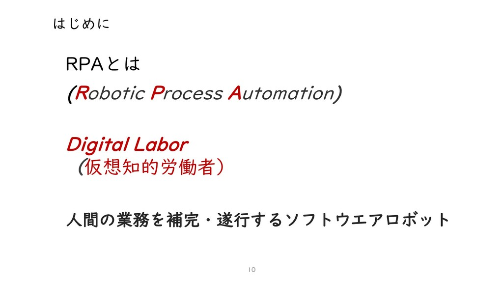 (Robotic Process Automation) Digital Labor (仮想知...