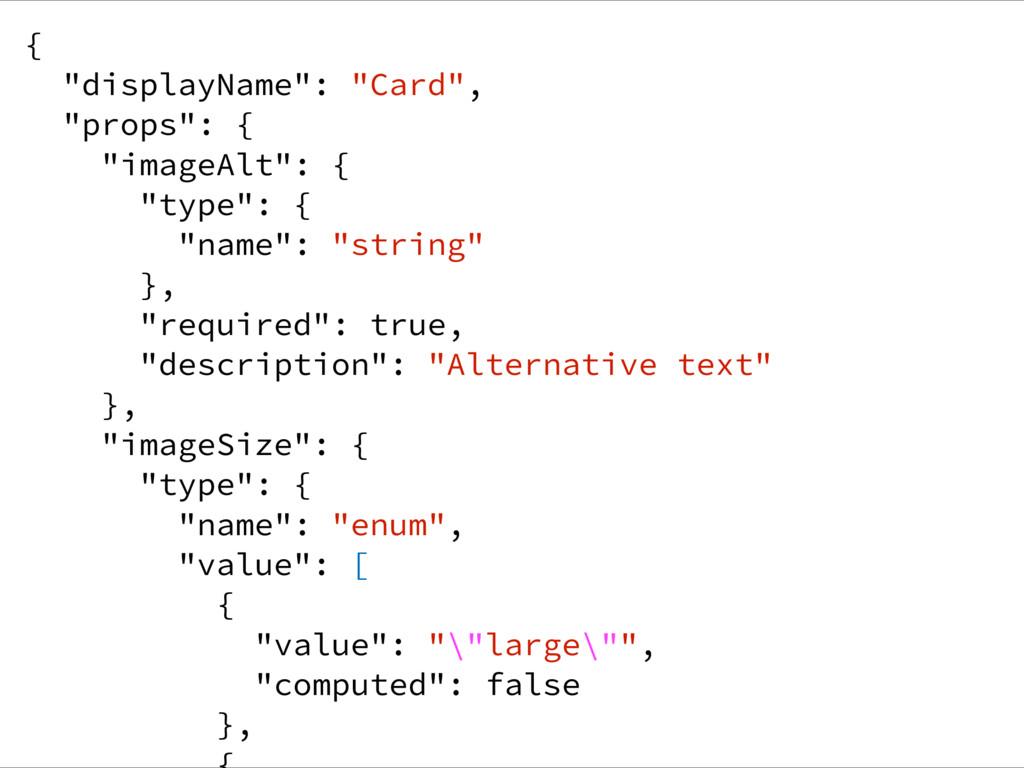 "{ ""displayName"": ""Card"", ""props"": { ""imageAlt"":..."