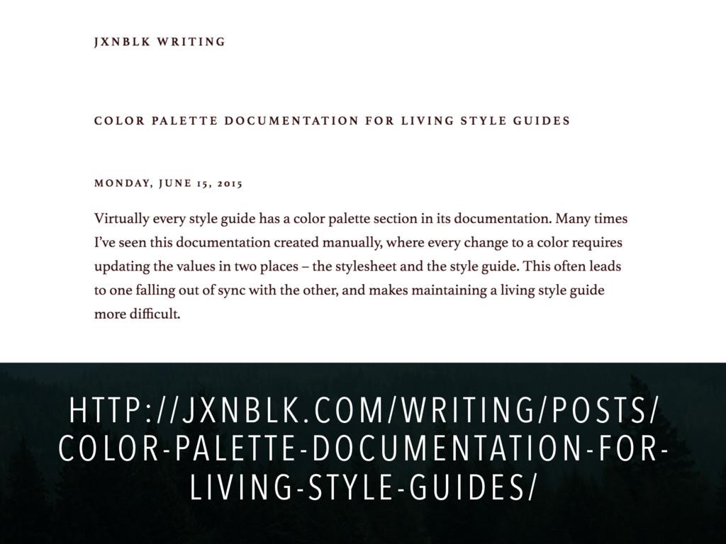 HTTP://JXNBLK.COM/WRITING/POSTS/ COLOR-PALETTE-...