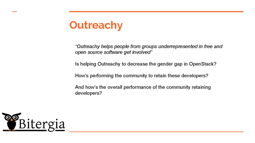 """Outreachy """"Outreachy helps people from groups u..."""