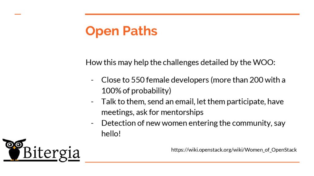 Open Paths How this may help the challenges det...