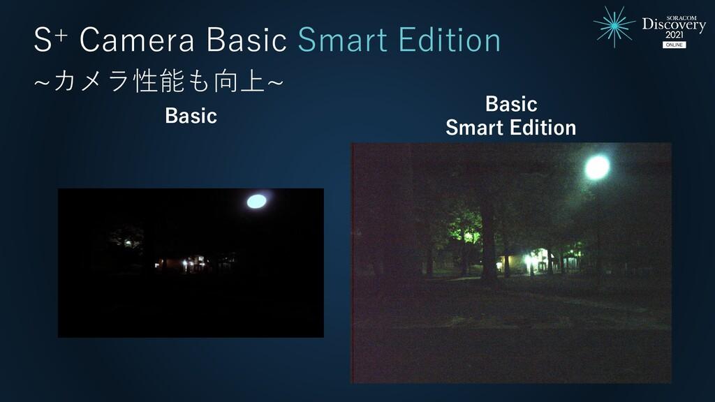 Basic Smart Edition Basic S+ Camera Basic Smart...