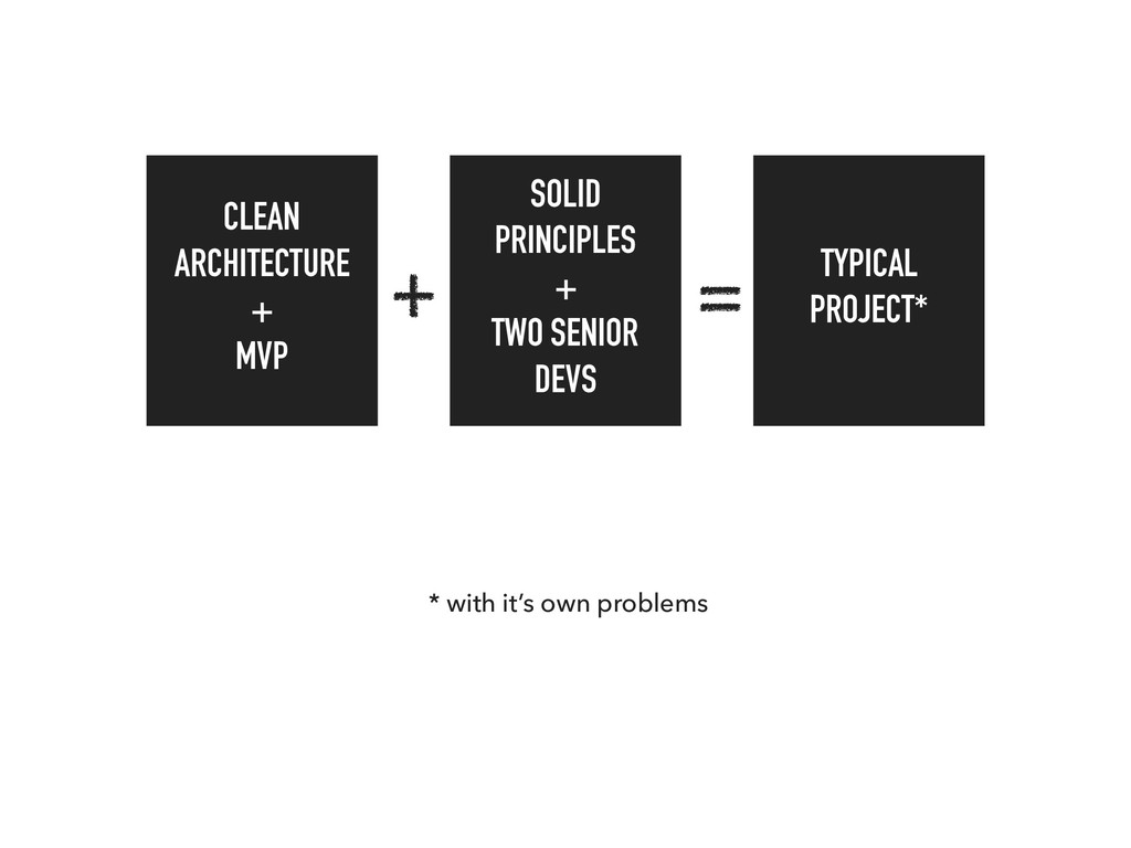 CLEAN ARCHITECTURE + MVP SOLID PRINCIPLES + TWO...