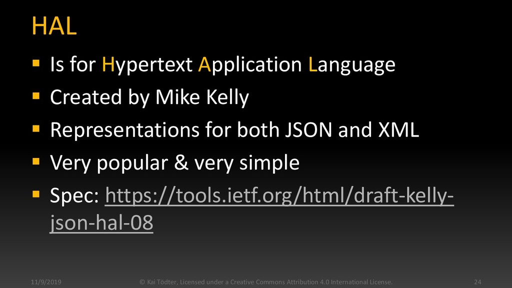 HAL  Is for Hypertext Application Language  C...