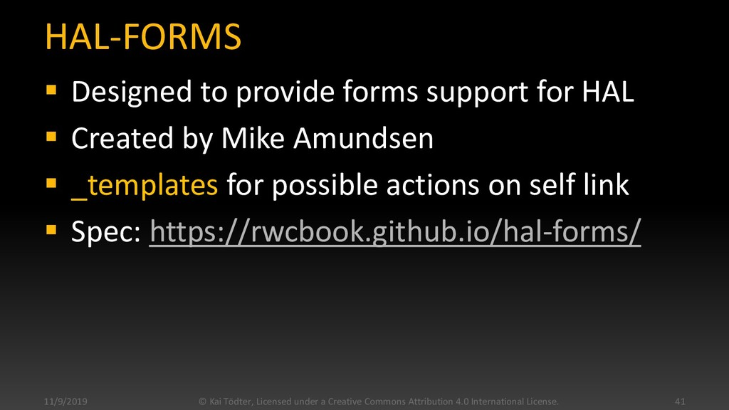 HAL-FORMS  Designed to provide forms support f...