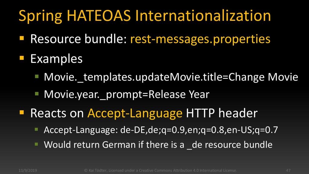 Spring HATEOAS Internationalization  Resource ...