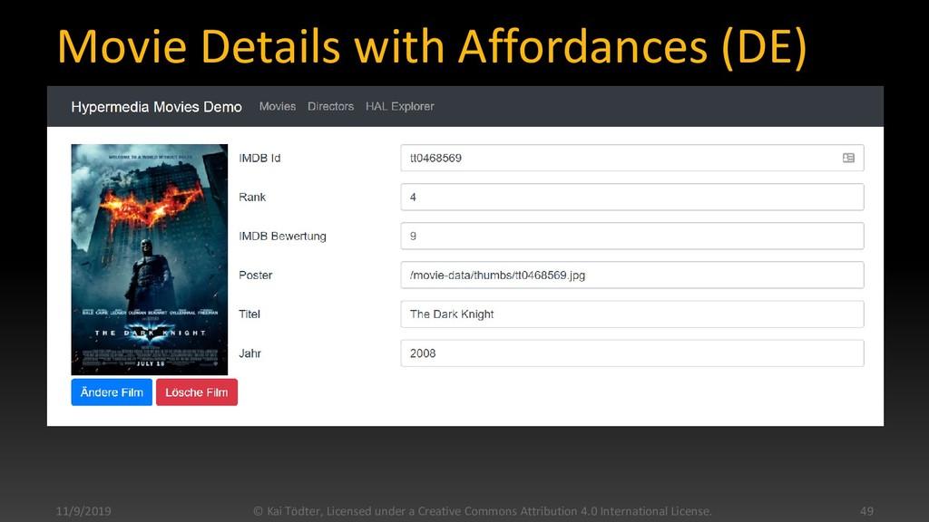 Movie Details with Affordances (DE) 11/9/2019 ©...
