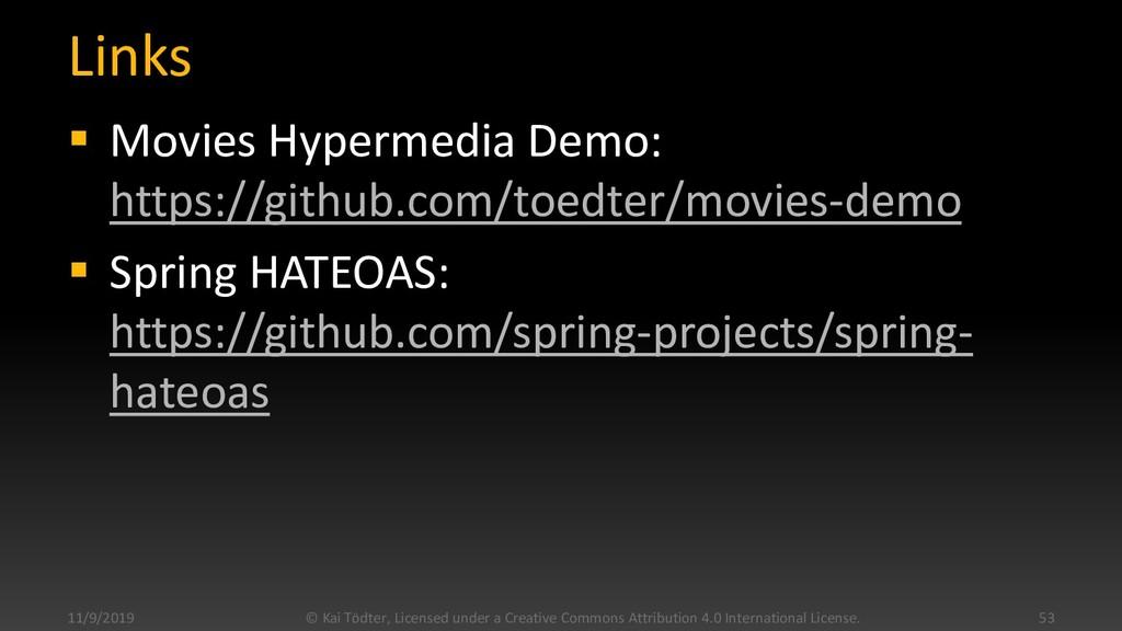 Links  Movies Hypermedia Demo: https://github....