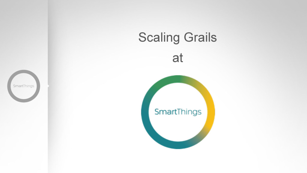 Scaling Grails at