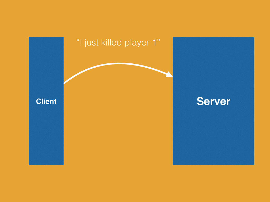 "Server Client ""I just killed player 1"""
