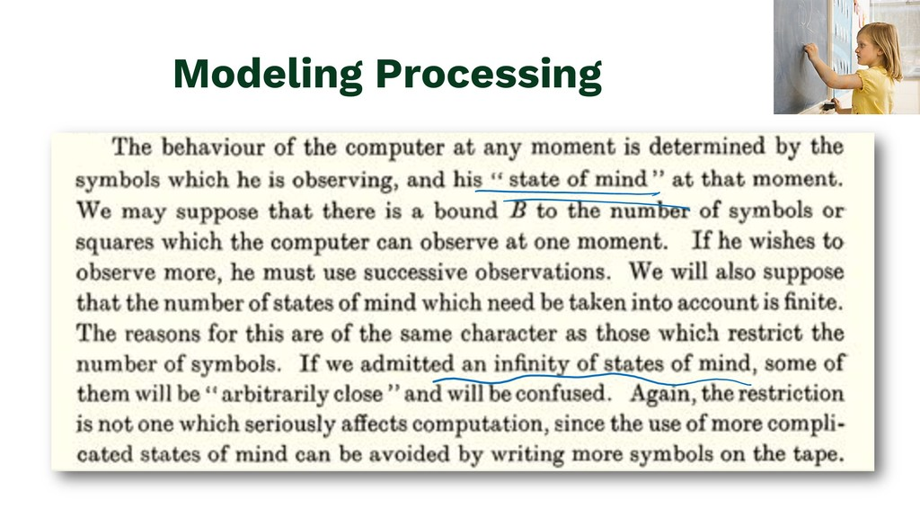 Modeling Processing