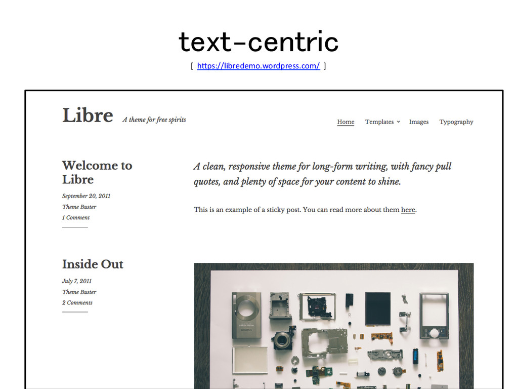 text-centric! [  h$ps://libredemo.wordpre...