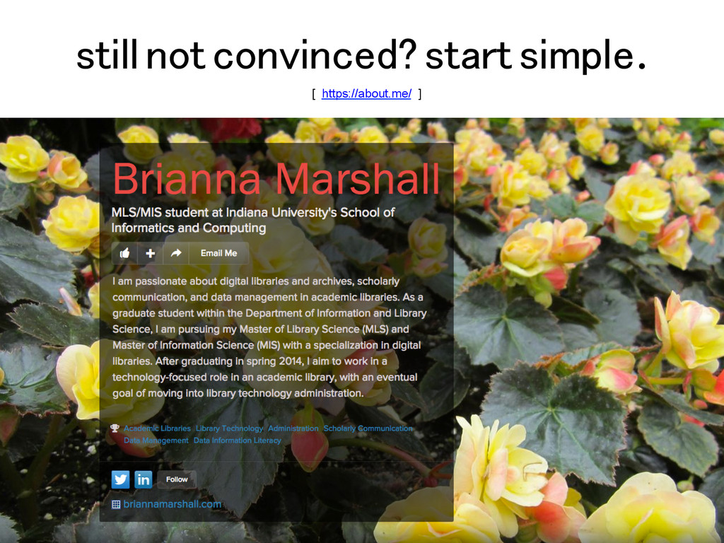 still not convinced? start simple.! [ https://a...