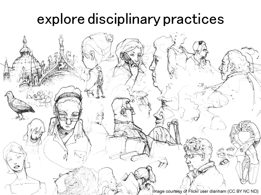 explore disciplinary practices! Image courtesy ...