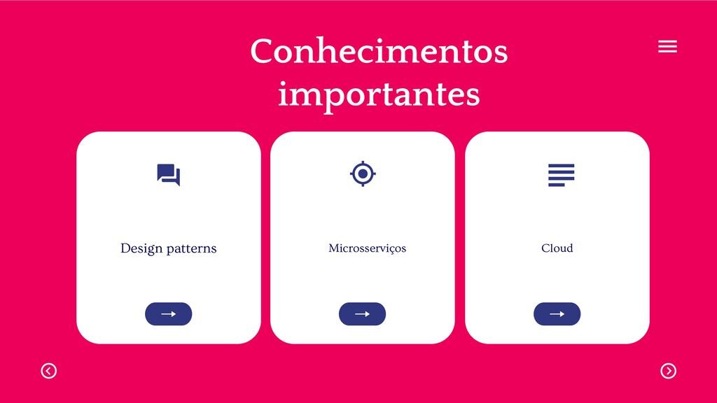 Design patterns Microsserviços Cloud Conhecimen...