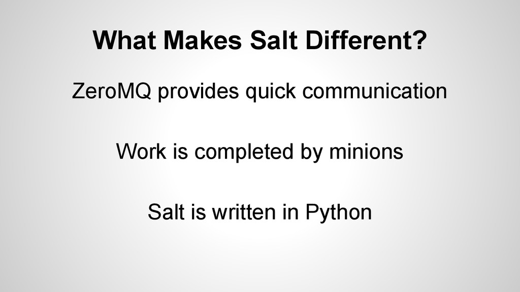 ZeroMQ provides quick communication Work is com...