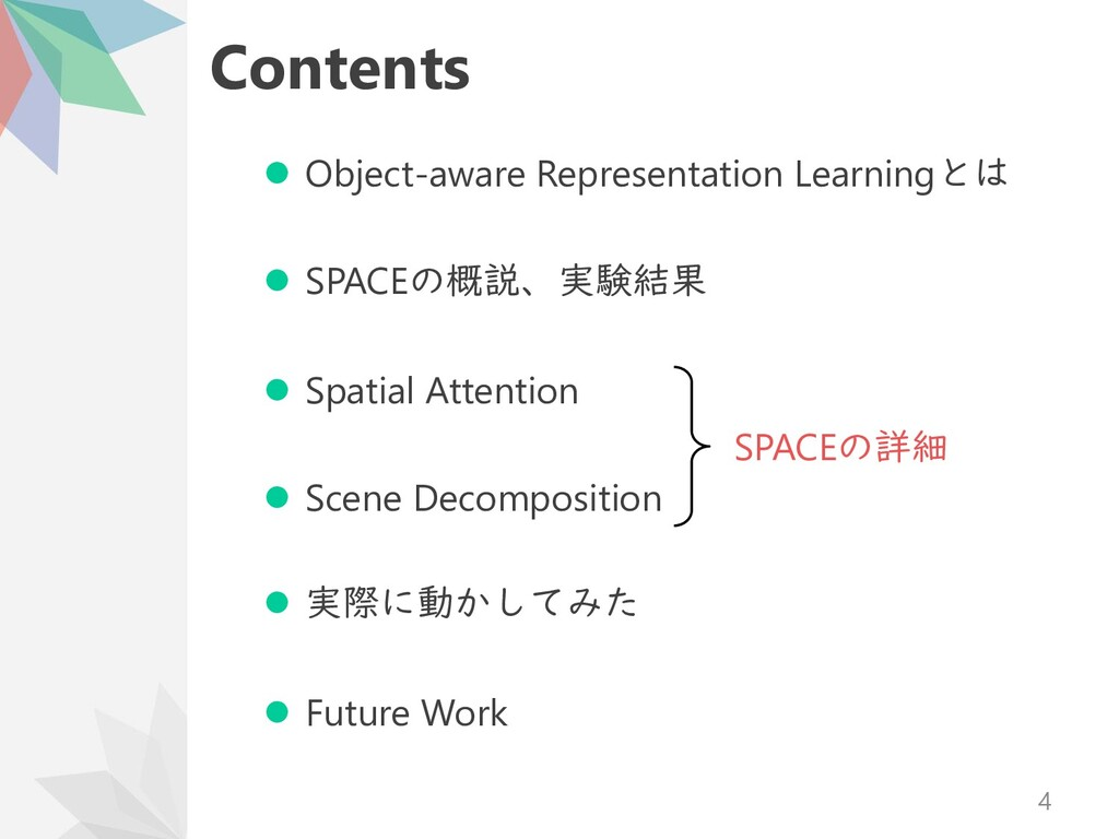 Contents ⚫ Object-aware Representation Learning...