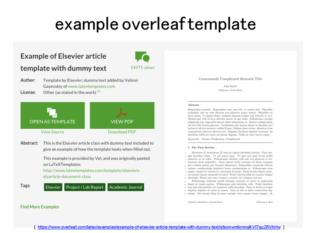 example overleaf template! [ https://www.overle...