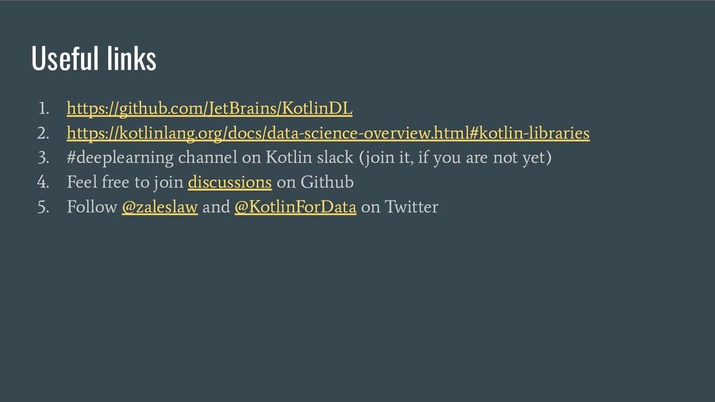 Useful links 1. https://github.com/JetBrains/Ko...