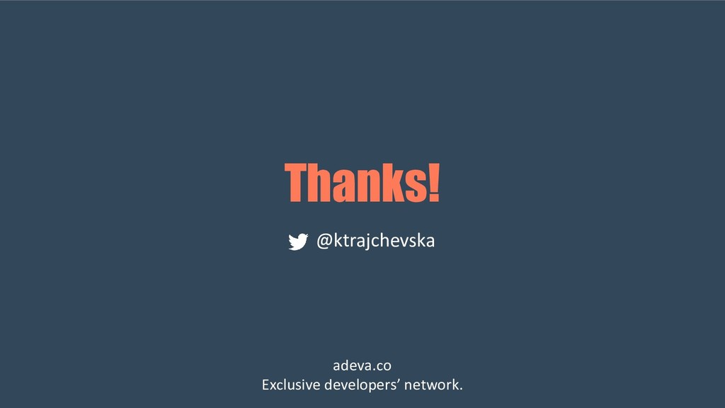 Thanks! @ktrajchevska adeva.co Exclusive develo...