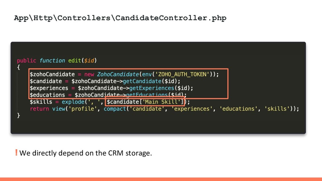 App\Http\Controllers\CandidateController.php ! ...