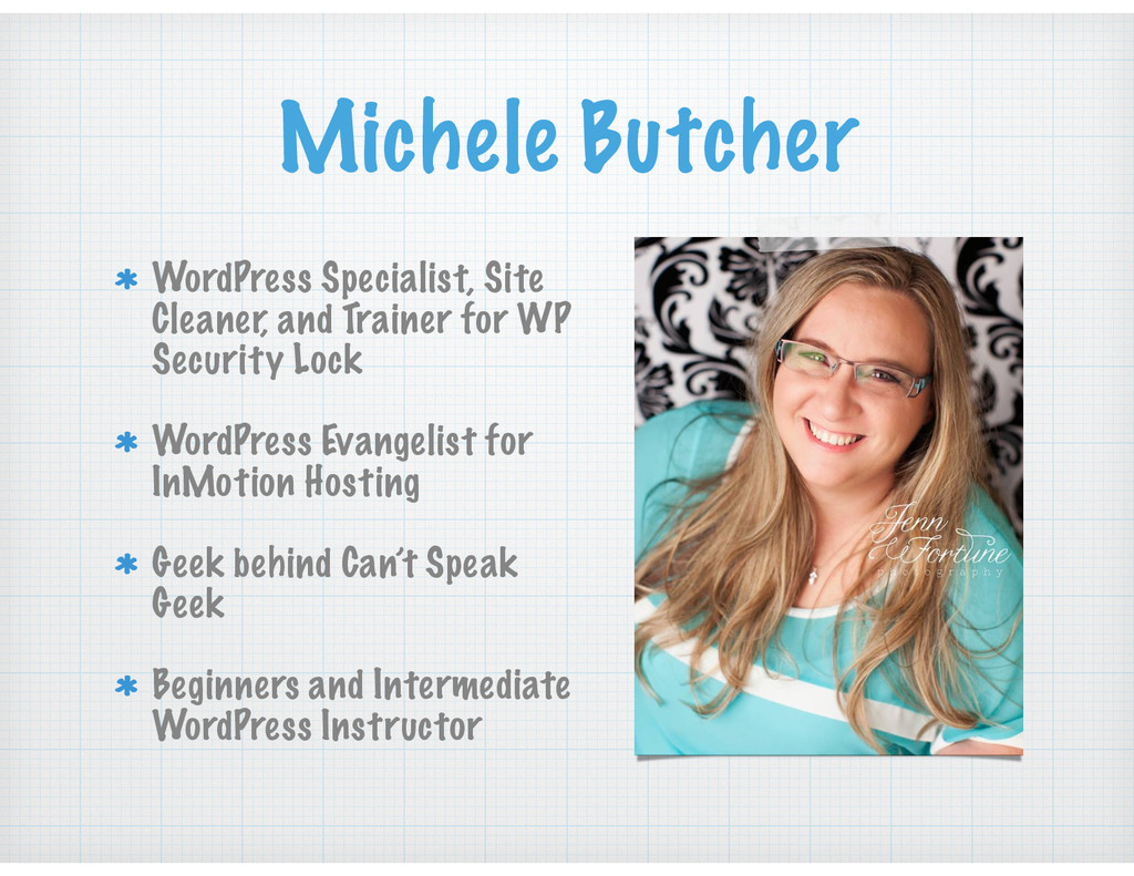 Michele Butcher WordPress Specialist, Site Clea...