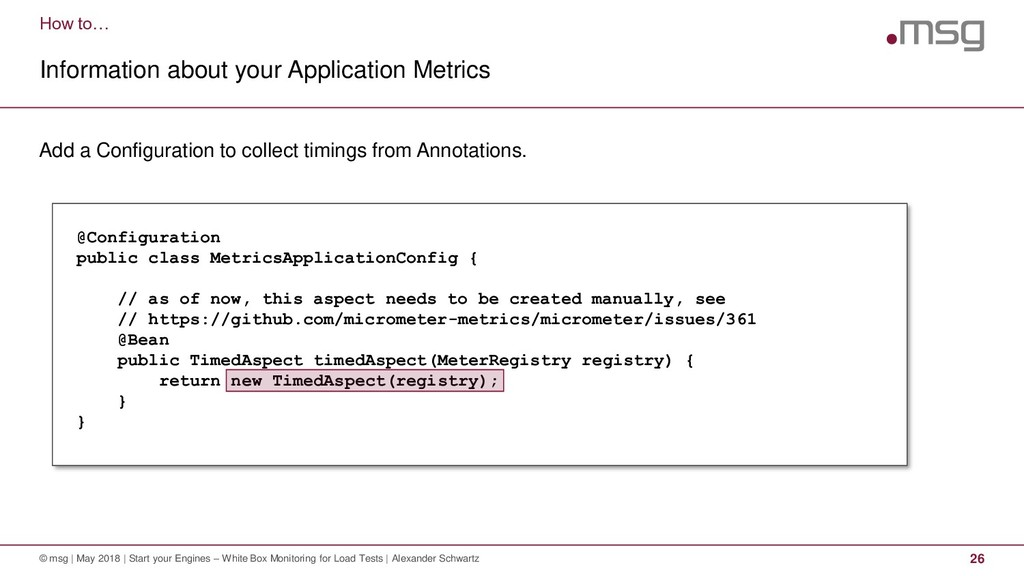 How to… Information about your Application Metr...