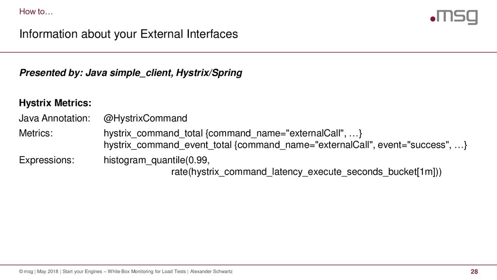 How to… Information about your External Interfa...